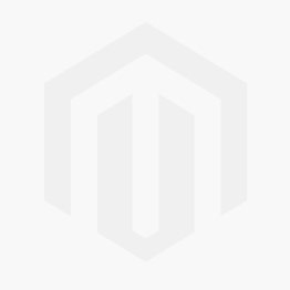 Layered Warped Open Circle Pendant Necklace